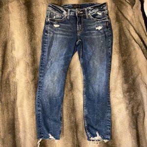 Silver Jeans Co. Capris